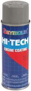 SEYMOUR PAINT Paint - HI TECH ENGINE - High Temperature - Alkyd Enamel - Ford Gray - 16.00 oz Aerosol - Each # EN-43