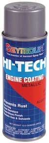 SEYMOUR PAINT Paint - HI TECH ENGINE - High Temperature - Alkyd Enamel - Aluminum - 16.00 oz Aerosol - Each # EN-71