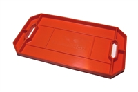 Grypmat Large Tool Tray, Chemical Resistant, Orange, Each,GRYRFGM-CR01S
