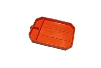 Grypmat Medium Tool Tray, Chemical Resistant, Orange, Each
