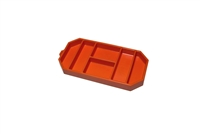 Grypmat Small Tool Tray, Chemical Resistant, Orange, Each