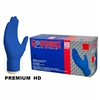AMMEX Gloveworks Heavy Duty Royal Blue Nitrile Gloves 6 mil (10 box x 100) GWRBN