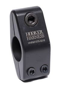 HOOKER HARNESS Harness Hardware - Clamp-On - 1-3/8 in Diameter Tube - Steel - Black - Sprint Car - Each # HHRM1375S-1015