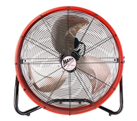 "Ventamatic MaxxAir 20"" High Velocity Shrouded Floor Fan # HVFF20SRED"