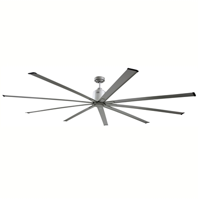 "Ventamatic Big Air 72"" INDUSTRIAL CEILING FAN, 9 BLADES, 6 SPEED REVERSIBLE DC MOTOR # ICF72"