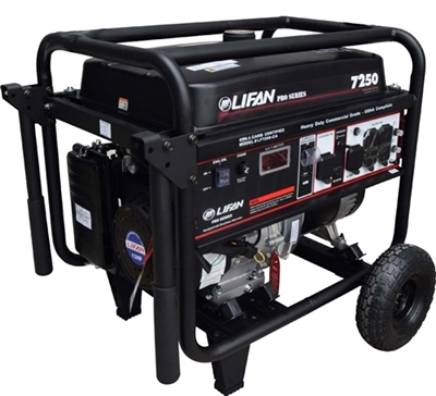 LIFAN LF7250 Pro Series Commercial Grade Portable Generator