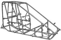 TRIPLE X RACE COMPONENTS Chassis Kit - Chromoly - Natural - Triple X Midget - Kit # MID-CH-1000