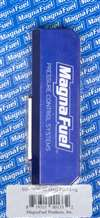 MAGNAFUEL/MAGNAFLOW FUEL SYSTEMS Fuel Block - Four 10 AN Female O-Ring Ports - Bracket Included - Aluminum - Blue Anodize - Each # MP-7600-02
