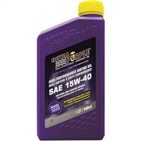 ROYAL PURPLE LTD Royal Purple API-Licensed SAE 15W-40 High Performance Synthetic Motor Oil (Canadian) - 1 Quart Bottle # 21154