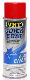VHT Paint - Quick Coat - Enamel - Fire Red - 11.00 oz Aerosol - Each # SP501