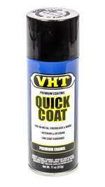 VHT Paint - Quick Coat - Enamel - Gloss Black - 11.00 oz Aerosol - Each # SP504