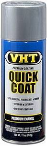 VHT Paint - Quick Coat - Enamel - Bright Aluminum - 11.00 oz Aerosol - Each # SP507