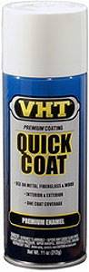VHT Paint - Quick Coat - Enamel - Gloss White - 11.00 oz Aerosol - Each # SP509