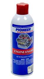 PIONEER Paint - Engine - High Temperature - Enamel - Ford Red - 11.00 oz Aerosol - Each # T-12-A