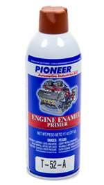 PIONEER Paint - Engine - High Temperature - Enamel - Red Oxide - 11.00 oz Aerosol - Each # T-52-A