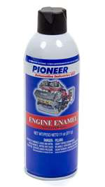 PIONEER Paint - Engine - High Temperature - Enamel - Flat Black - 11.00 oz Aerosol - Each # T-54-A
