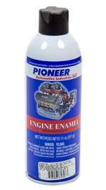 PIONEER Paint - Engine - High Temperature - Enamel - Semi-Gloss - Black - 11.00 oz Aerosol - Each # T-61-A