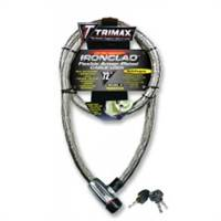 Trimax IRONCLAD ARMOR PLATED STAINLESS STEEL  LOCKING CABLE 6 L X 26MM # TG3072SX