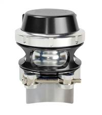 TURBOSMART USA Blow-Off Valve - Race Port - Clamp / Flange Included - Aluminum - Black Anodize - Universal - Each # TS-0204-1102