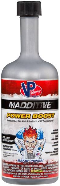 VP FUEL CONTAINERS Fuel Additive - MADDITIVE - Fuel System Cleaner - 16.00 oz - Gas - Each # VPF2825