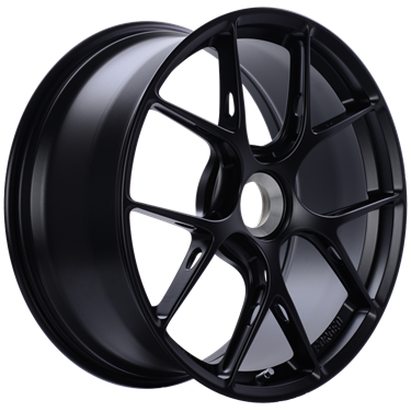 BBS FI-R 20x9 Center Lock ET52 CB84 Satin Black Wheel # FI133BS