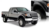 Bushwacker 04-08 Ford F-150 Styleside Pocket Style Flares 4pc 66.0/78.0/96.0in Bed - Black # 20916-02