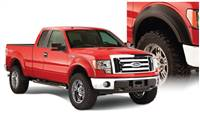 Bushwacker 09-14 Ford F-150 Styleside Extend-A-Fender Style Flares 4pc 67.0/78.8/97.4in Bed - Black # 20926-02