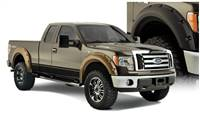 Bushwacker 09-14 Ford F-150 Styleside Max Pocket Style Flares 4pc 67.0/78.8/97.4in Bed - Black # 20927-02