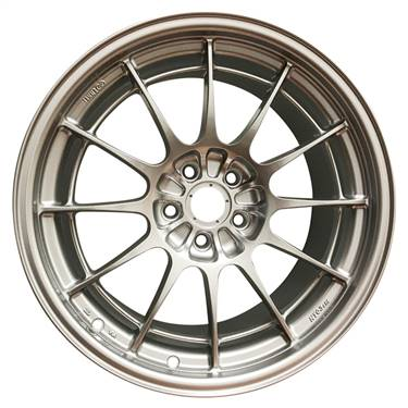 Enkei NT03+M 18x9.5 5x108 40mm Offset 72.6mm Bore F1 Silver Wheel (MIN ORDER QTY 40) # 3658953140SP