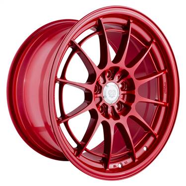 Enkei NT03+M 18x9.5 5x100 40mm Offset Competition Red Wheel # 3658958040RD