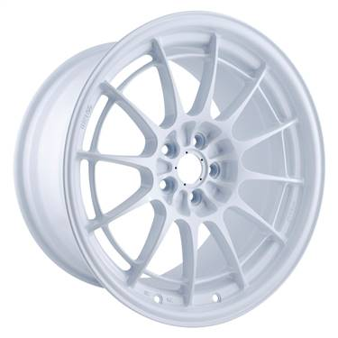 Enkei NT03+M 18x9.5 5x100 40mm Offset Vanquish White Wheel # 3658958040WP
