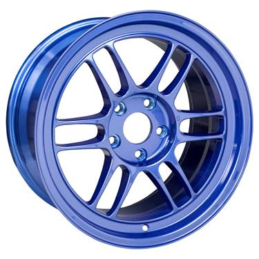 Enkei RPF1 17x9 5x114.3 35mm Offset 73mm Bore Victory Blue Wheel # 3797906535BL