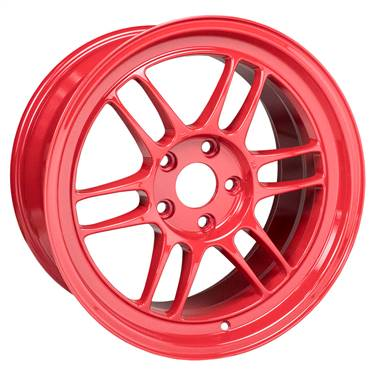 Enkei RPF1 17x9 5x114.3 35mm Offset 73mm Bore Competition Red Wheel # 3797906535RD