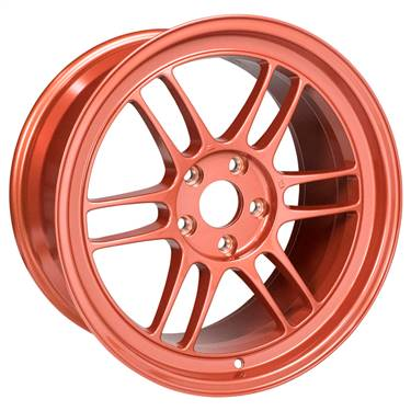 Enkei RPF1 18x9.5 5x114.3 38mm Offset 73mm Center Bore Orange Wheel # 3798956538OR