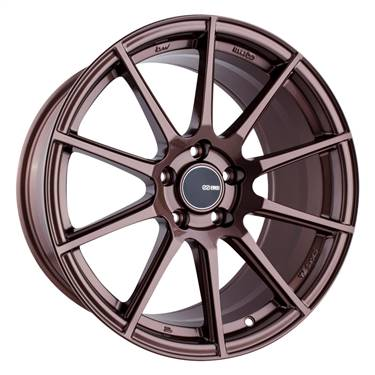 Enkei TS10 18x9.5 35mm Offset 5x114.3 Bolt Pattern 72.6mm Bore Dia Copper Wheel # 499-895-6535ZP