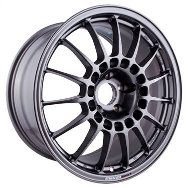 Enkei RCT5 18x9.5 5x114.3 38mm Offset 70mm Bore Dark Silver Wheel # 514-895-6538DS