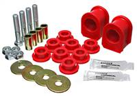 Energy Suspension 05-07 Ford Mustang Red Rear Sway Bar Frame Bushings (Must Reuse All Metal Parts) # 4.5191R
