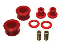 Energy Suspension 90-96 Nissan 300ZX Red Rear Differential Carrier Bushing Set (Must reuse all metal # 7.1108R