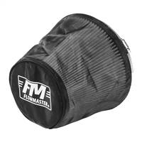 Flowmaster Universal Air Filter Wrap 6.625in Long - Black # 615002