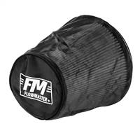 Flowmaster Universal Air Filter Wrap 7.500in Long - Black # 615003