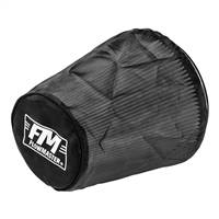Flowmaster Universal Air Filter Wrap 8.625in Long - Black # 615004
