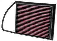 K&N Replacement Air FIlter 09-12 Peugeot / 09-12 Citroen # 33-2975