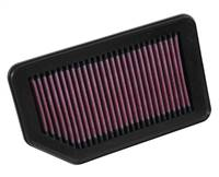 K&N Replacement Panel Air Filter for 2014 Honda City 1.5L # 33-3030