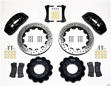 Wilwood TC6R Front Kit 16.00in Drilled 1999-2014 GM Truck/SUV 1500 # 140-8992-D