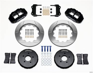Wilwood Narrow Superlite 6R Front Hat Kit 14.00in Nissan 350Z/Fiti G35 # 140-9192