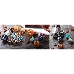 Colorburst & Stainless Wide Bore 810 tip for TFV8/12/NRG tanks