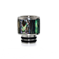 Abalone Shell Wide Bore Drip Tip
