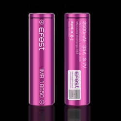 EFest IMR 18650 LiMn 3000mAh 35A High Drain Battery
