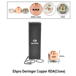 Ehpro Derringer Copper Rebuildable Dripping Atomizer (Clone)