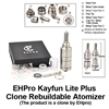 Kayfun Lite Plus V2 Clone Rebuildable Atomizer by EHPro